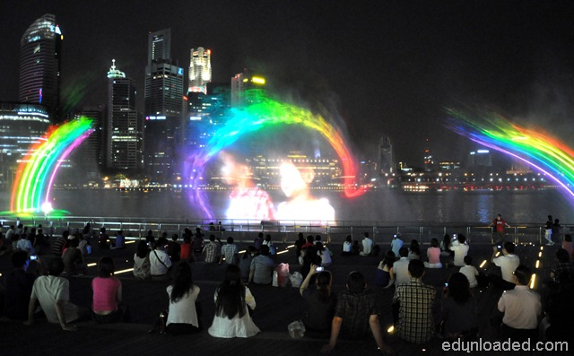 light and water show at marina bay sands ed unloaded com