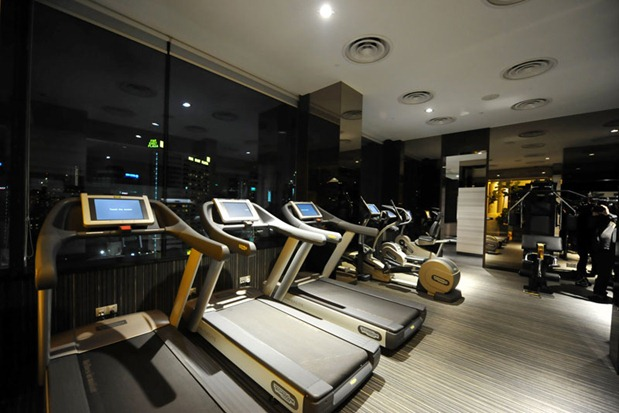 Quincy hotel gym
