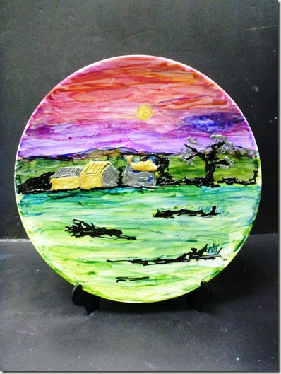 Paints on Plate