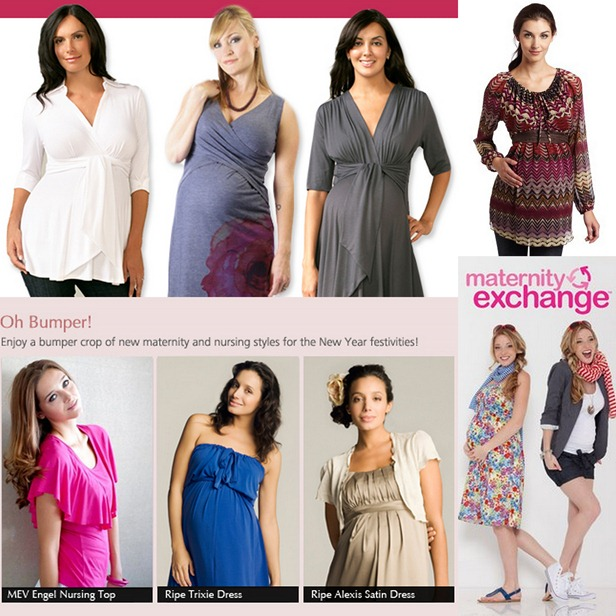 maternity exchange collage