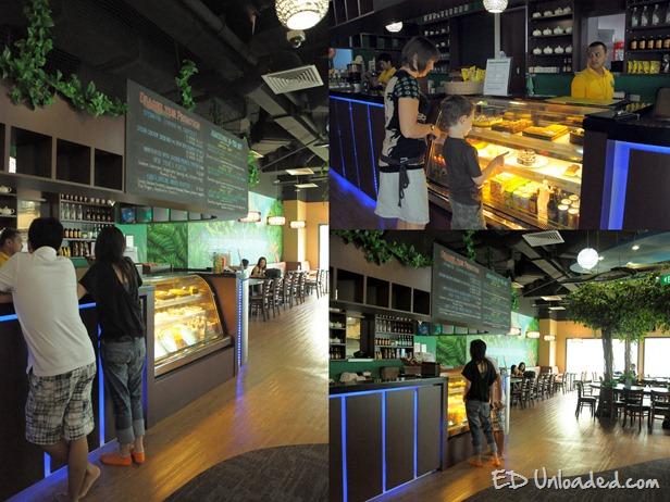 Cafe at Amazonia