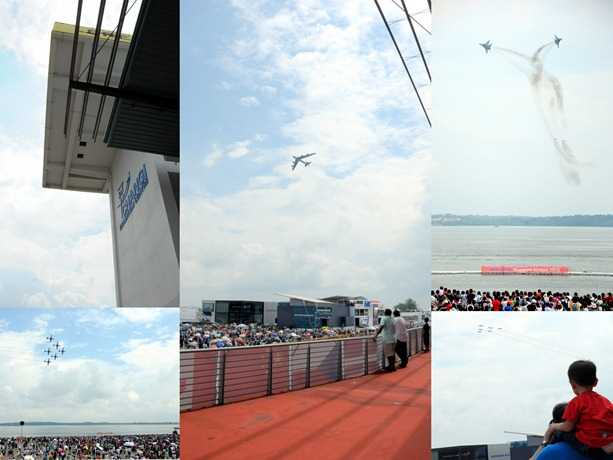 Air Show collage