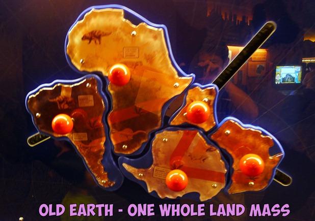 earth land mass