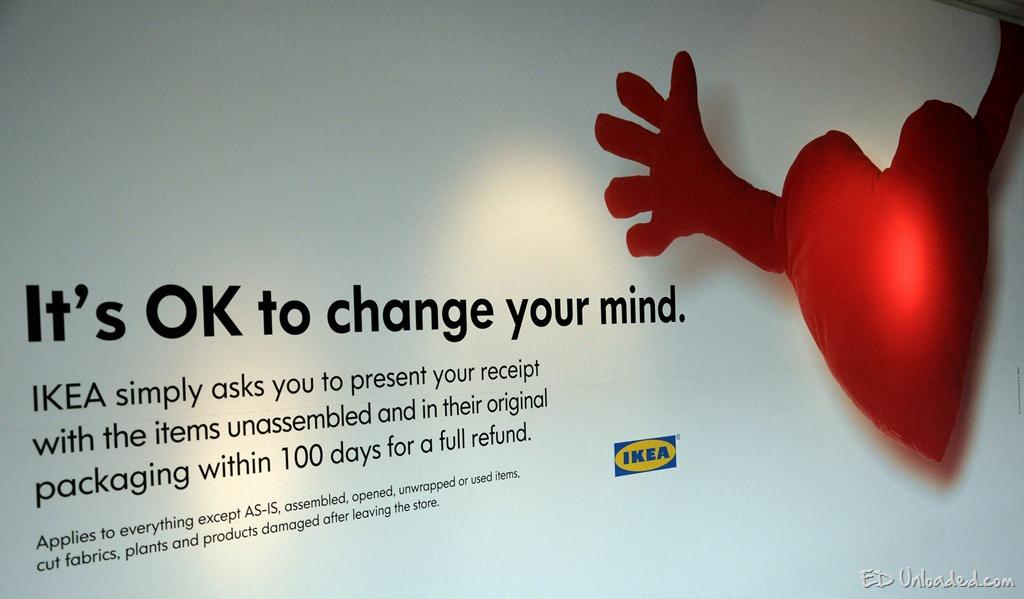 Return Policy Ikea Assembled Furniture Online Information