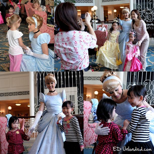 Meet and greet princess