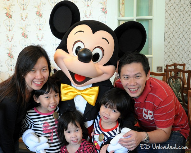 mickey family photo