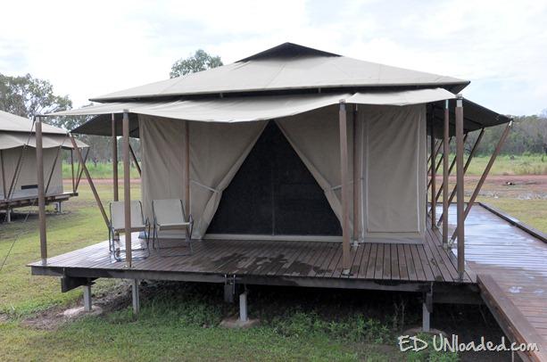 tent outside