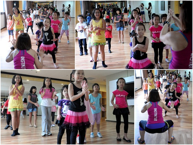 Zumba collage