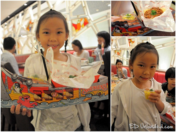 swensens kids meal