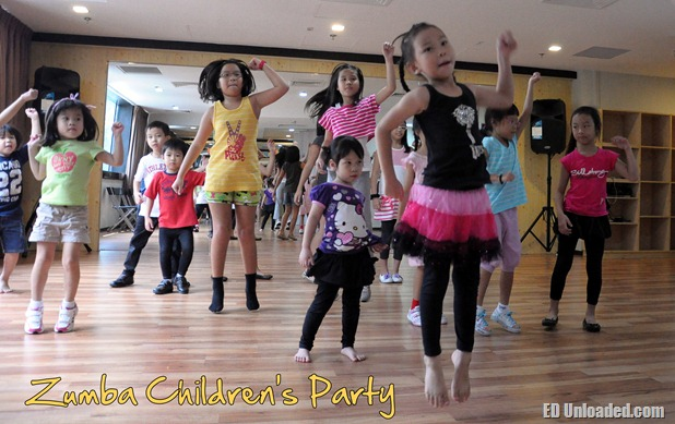 zumba party thumb Zumba Children's Party