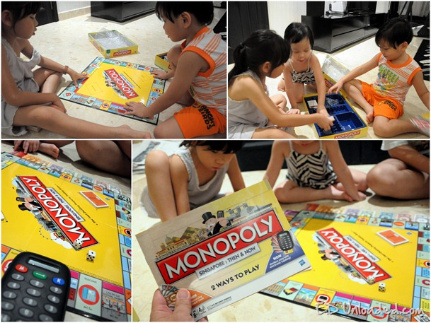 Monopoly collage