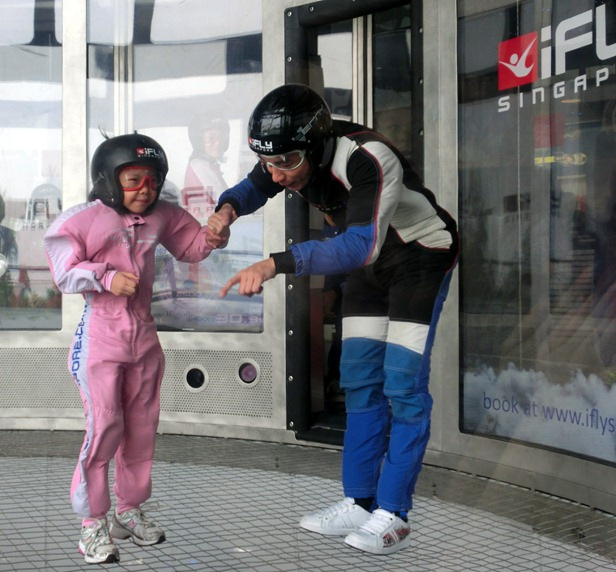 walking in ifly