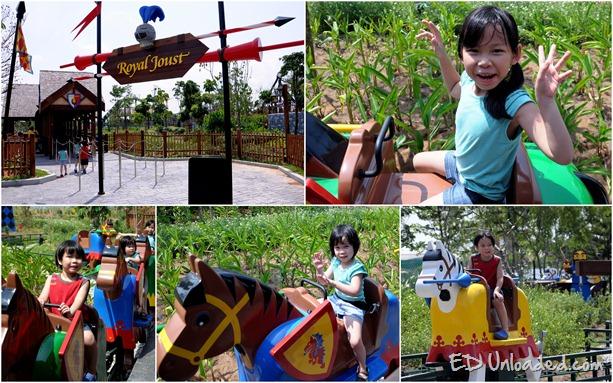 Rides at Legoland