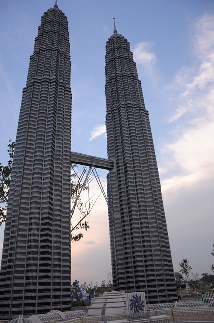 twin towers lego