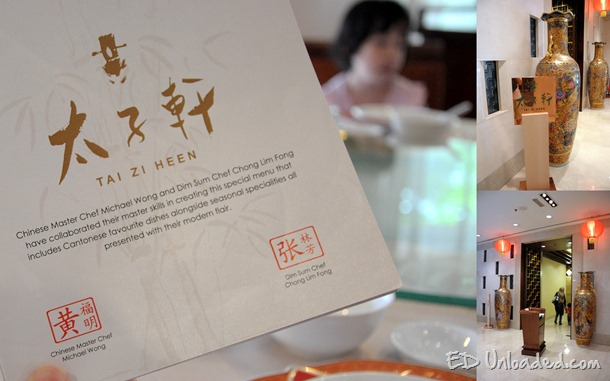 Cantonese Restaurant collage