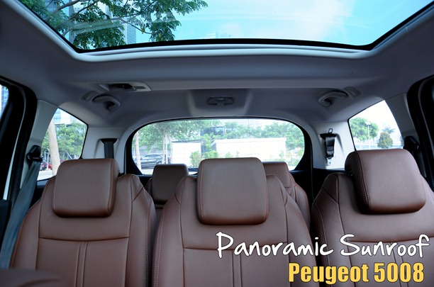 Peugeot Panoramic Sunroof
