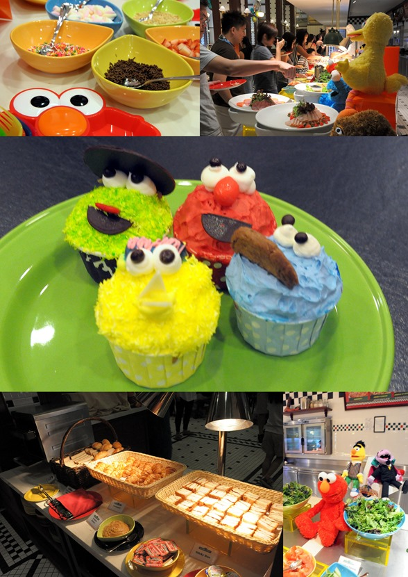 Sesame St breakfast