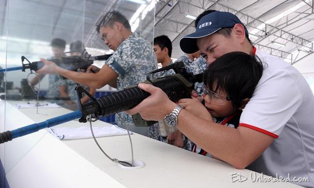 firing at Navy open house