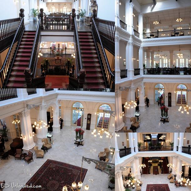 Raffles Hotel interior