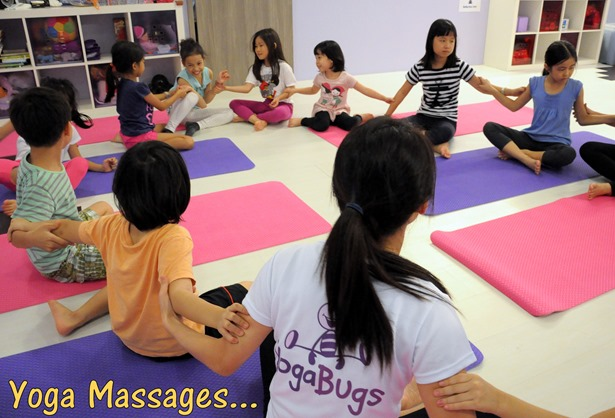 yoga massages