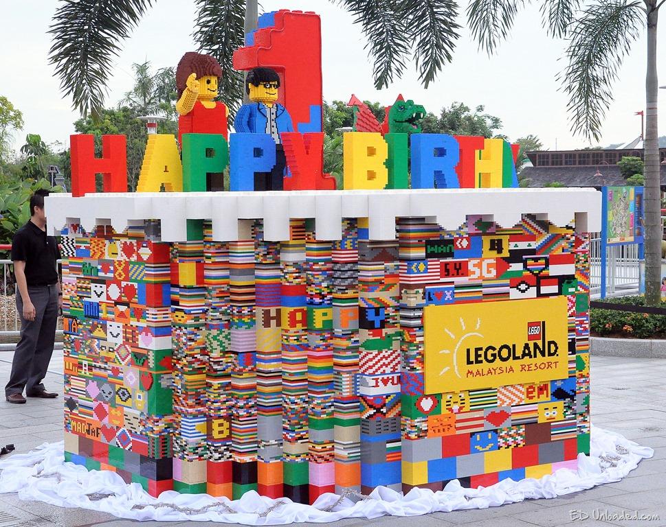 Legoland California Birthday Cake