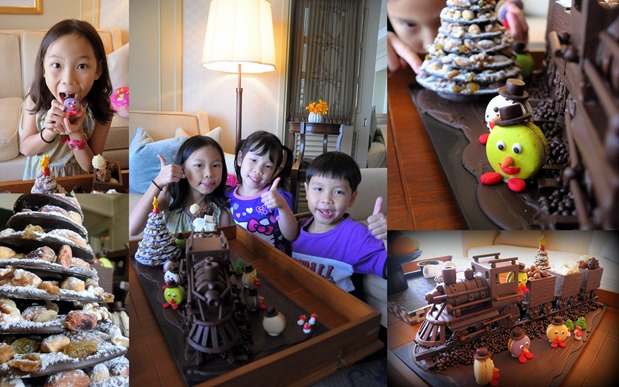 Christmas Chocolate train thumb Mandarin Oriental Bangkok