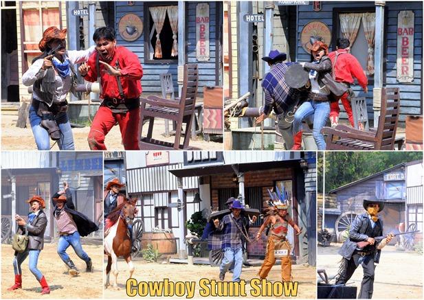 Thailand stunt show