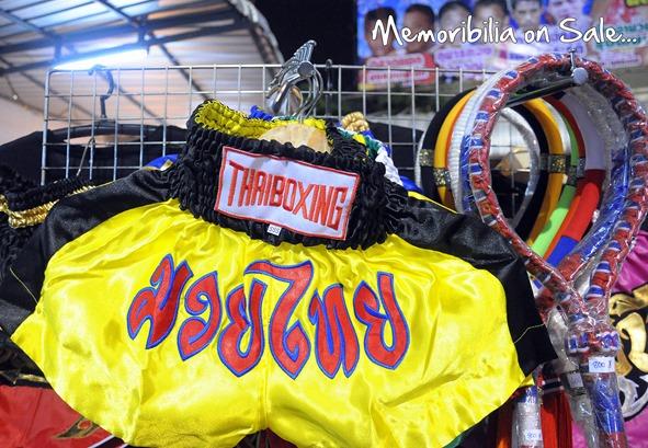 thai boxing memoribilia