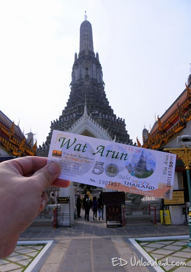 wat arun ticket