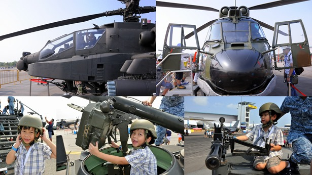 air force static display thumb Singapore Air Show with the RSAF family day