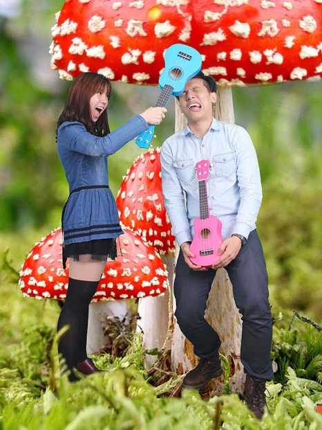mushroom thumb Giveaway: Family Portraits at Studio Me
