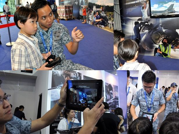 rsaf pavilion thumb Singapore Air Show with the RSAF family day