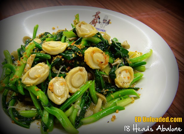 abalone vegetables