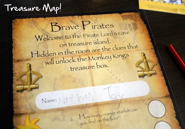 lego treasure map
