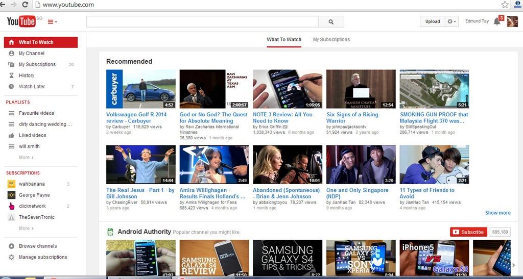 Youtube Youtube Home