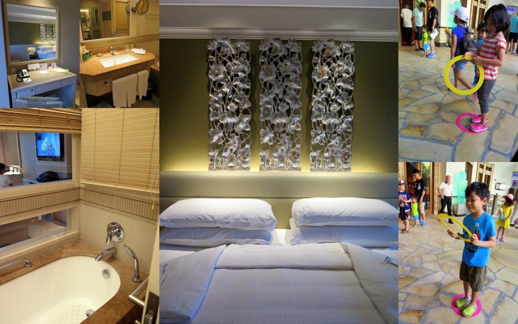 sentosa hotel room