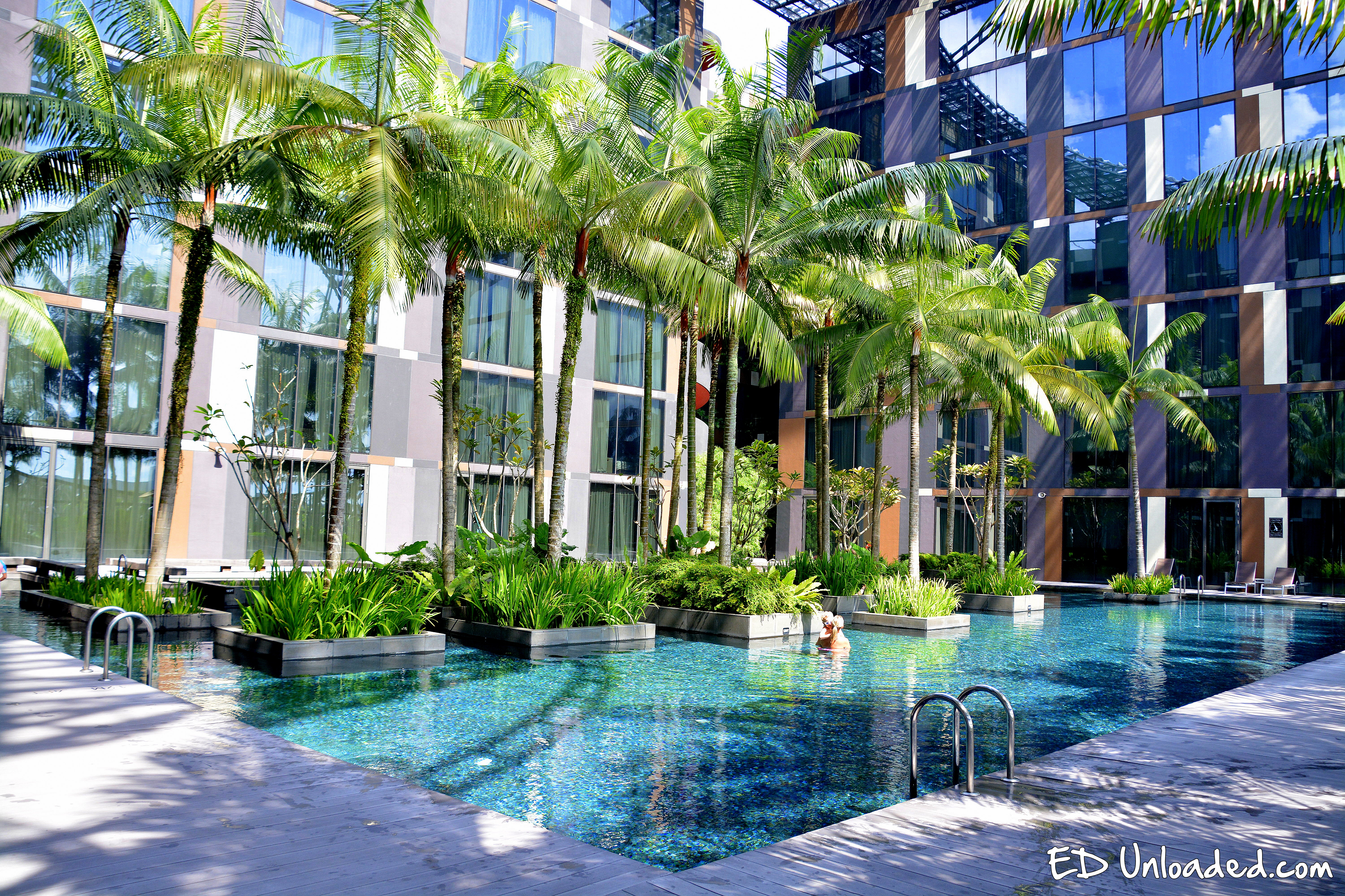 Crowne plaza airport hotel ed parenting - Least crowded swimming pool singapore ...