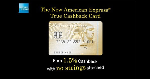 amex cashback credit