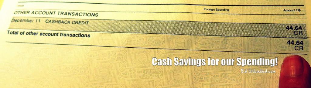 amex savings