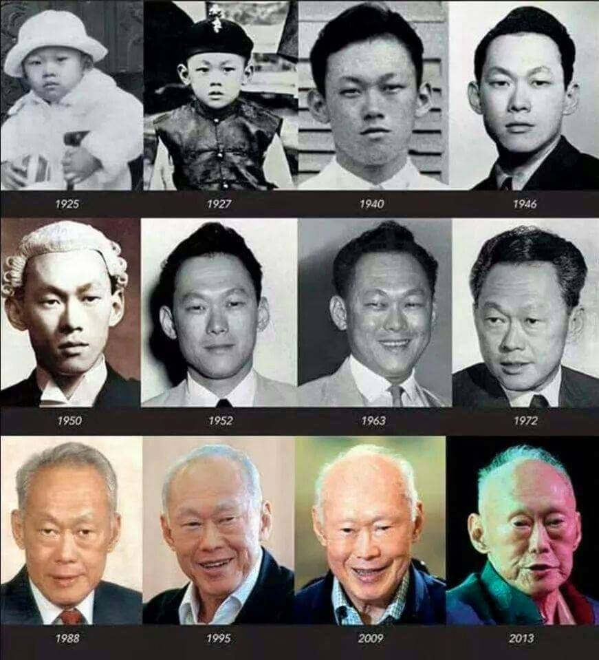 lee kuan yew growing up