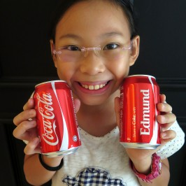 Get your Personalized Coke Cans!