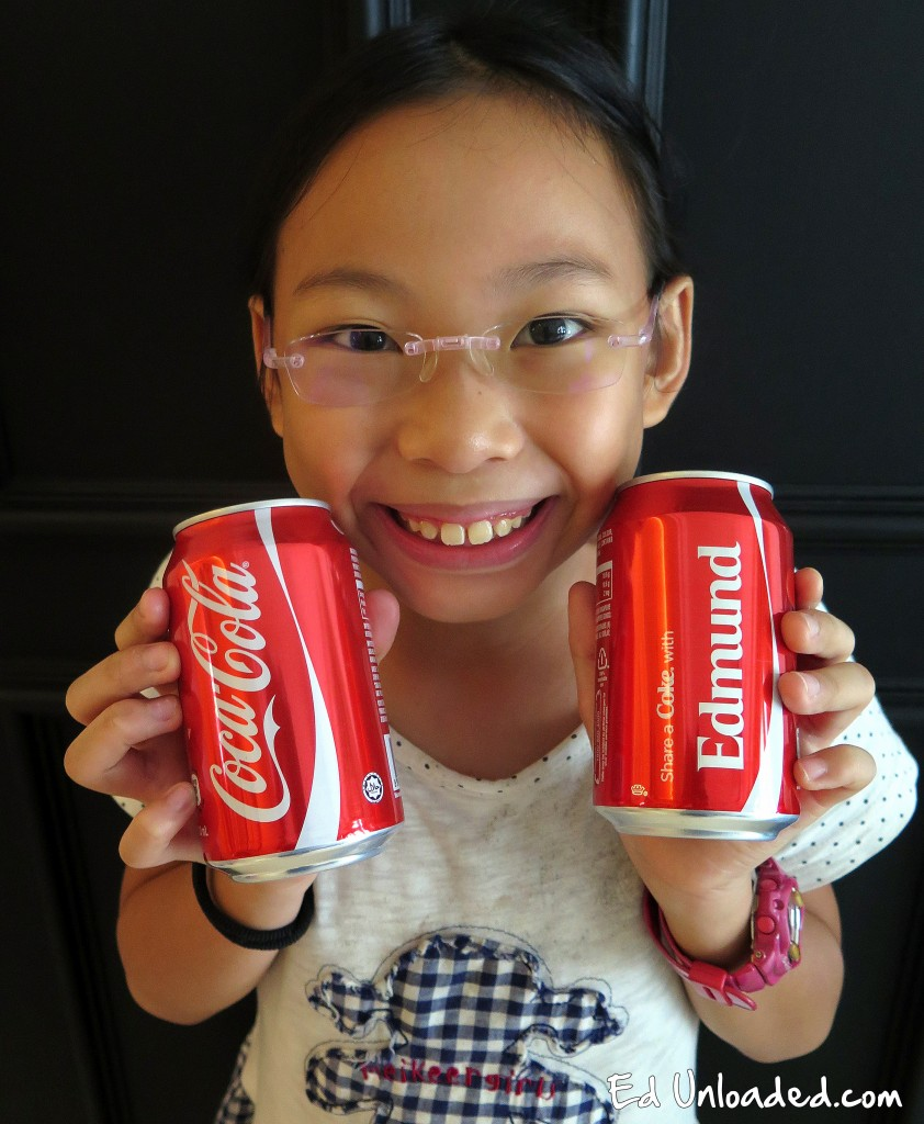 customized coke cans