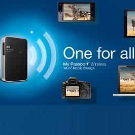 WD My Passport Wireless Storage Drive