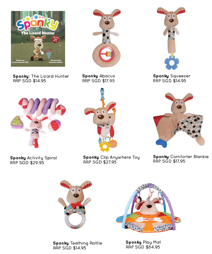 Sponky Baby Toys (Giveaway)