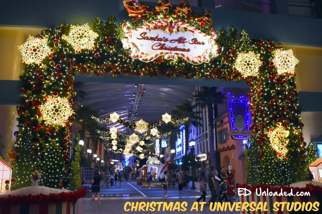 Universal Studios Xmas