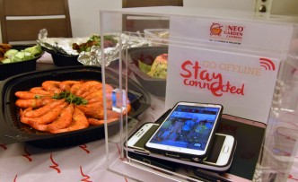 neo catering stay connected