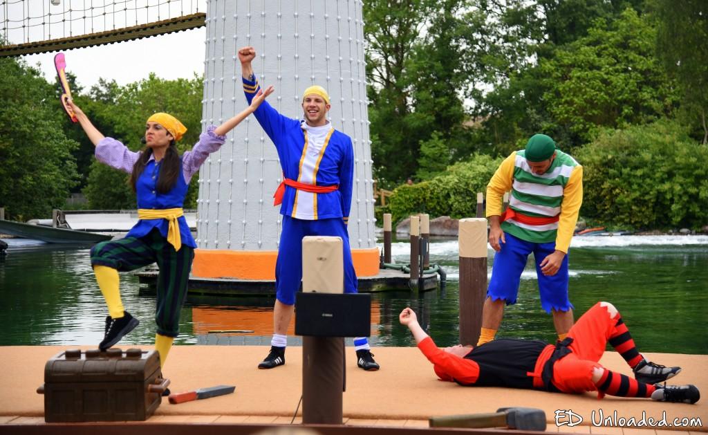 lego pirate show