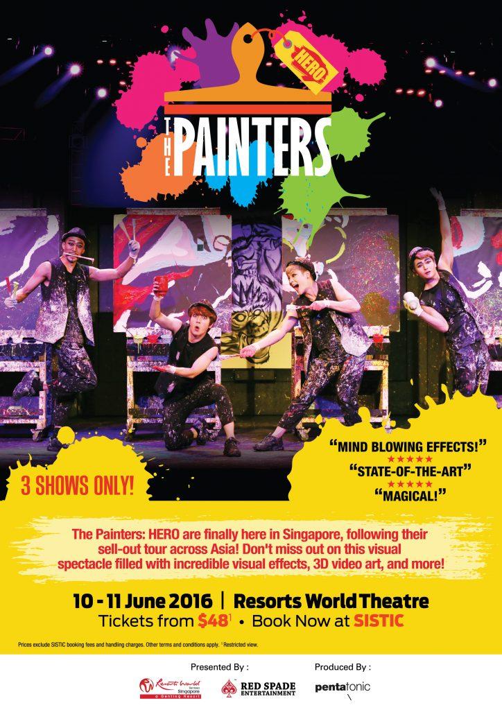 the painters resort world