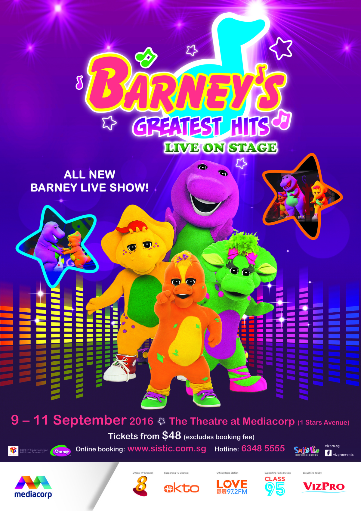 Barney's Greatest Hits (Giveaway)