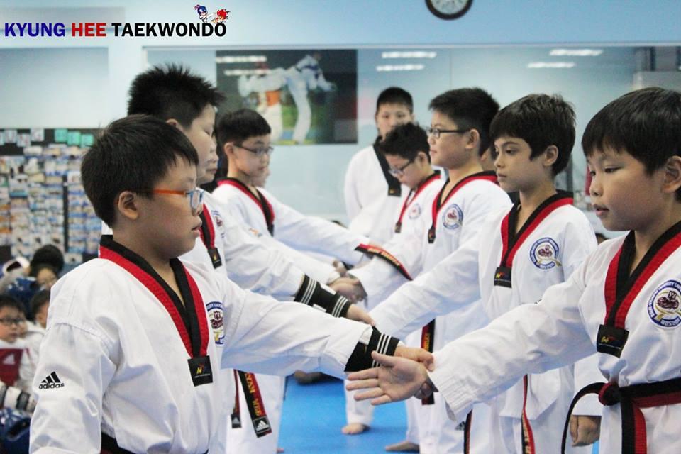 kyunghee taekwondo pattern